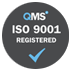 qms iso 9001 regiestered