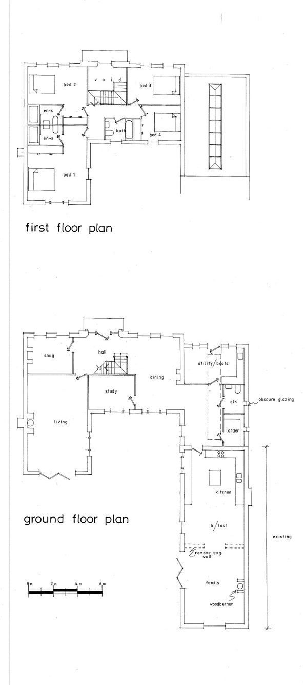 Green Home Design Wiltshire: house plans