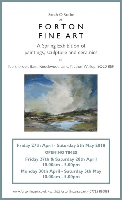 Forton Fine Art Spring Exhibition 2018