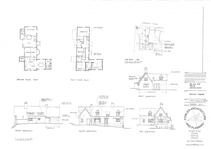 Heritage Asset two storey extension